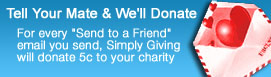 Tell Your Mate & We'll Donate