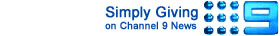 Click here to see Simply Giving on Channel 9 News